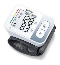 Beurer BC28 Automático Brazalete De Muñeca Monitor De Presión Arterial Frecuencia Cardíaca Beat Lectura