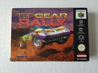 Top Gear Rally - Nintendo 64 N64 Game - [UKV PAL CIB] Boxed with manual