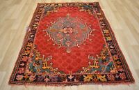 Late 19th Century (1880's-1890's) Genuine Exceptional Turkish Oushak Rug 4x6 Ft