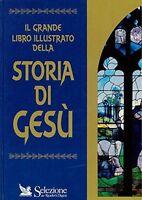 """JESUS BOOK """" Gesù """" Grande libro illustrato della storia di Gesù"""