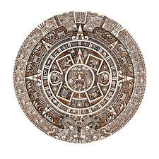 Large Stone Aztec Mesoamerican Calendar Wall Plaque Aztlan Tenochtitlan Maya