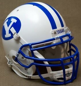 BRIGHAM YOUNG COUGARS NCAA Schutt XP Full Size AUTHENTIC Gameday Football Helmet
