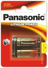 Panasonic 2CR5 6V Piles Lithium 2 Pièces - (2CR-5L)