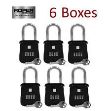 Lot Of 6 Key Lock Box For Realtor Real Estate Reo Door Hanger