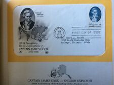 Captain James Cook First Day Cover issued Jan. 20, 1978 Anchorage Alaska