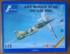 PJ Production Dual seat Mirage III BE / DS / D2Z / 5BD
