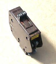 Wadsworth 20 Amp 2 Pole Tandem Twin B2020 20/20 Circuit Breaker