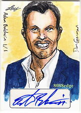 2014 POP CENTURY DAN GORMAN SKETCH AUTO: ADAM BALDWIN #1/1 OF ONE AUTOGRAPH