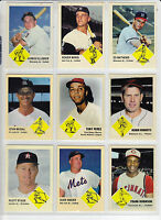 Lot of 9 MC 63 Extension cards Maris Musial Mathews Robinson Snider & more 🔥