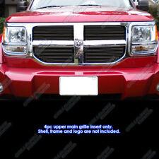 Fits 2007-2011 Dodge Nitro Black Main Upper Billet Grille Grill Insert