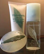 Elizabeth Arden Green Tea 3PC Women 1 fl Oz Scent Spray, Lotion, Floating Soap