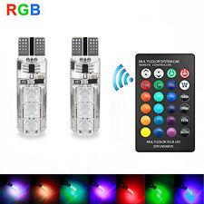 Control Remoto T10 5050 Coche Bombilla LED 6 SMD MULTICOLOR W5W 501 Bombillas Laterales