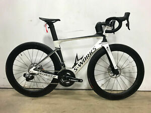NEW! 2018 Specialized S-Works Venge ViAS Disc eTap Road Bike 52