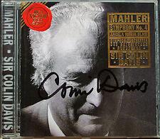 Sir Colin Davis Signé MAHLER Symphony No. 4 Angela Maria Blasi RCA CD 1996