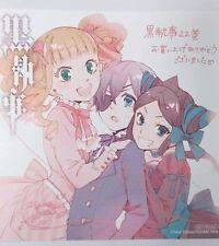 Black Butler Mini Duplicate Autograph Ciel Elizabeth Sieglinde Anime Yana F/S