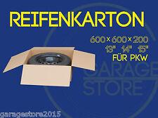 "4 Räderkarton Reifen karton 600x600x200 Versandkartons für PKW 13 ""14"" 15 Zoll"