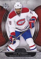 13-14 UD Ultimate P.K. Subban /499 Montreal Canadiens 2013