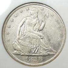 1856-O Seated Liberty Half Dollar 50C - NGC Certified - SS Republic Shipwreck!