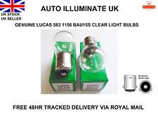 Lucas 583 BAU15S LLB583 Halogen Indicator Car Clear Light Bulbs Lamps 12v 21w