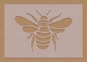 Bee Stencil Animal Print A5 A4 A3 A2 Crafting Art Wall Tile Floor