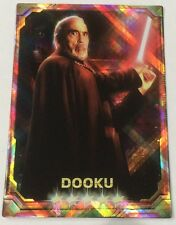 Dooku STAR WARS Force Collection Promo Card Holo / Shiny Japanese