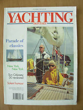 YACHTING MONTHLY MAGAZINE OCTOBER 1993 No 1046