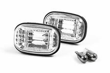 Toyota Celica 99-06 Chrome Side Indicators With Bulbs Pair Set Driver Passenger