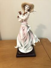FLORENCE GIUSEPPE ARMANI FIGURINE DATED & SIGNED 2003 NEW FRIENDS MADE IN ITALY