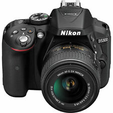 New Nikon D5300 DSLR Camera w/ New 18-55mm AF-P Stepping VR Motor Nikkor Lens