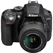 Sale Nikon D5300 Dslr Camera w/ New 18-55mm Af-p Stepping Vr Motor Nikkor Lens