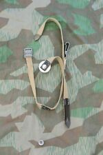 German WW2 Tropical Canteen Strap .75 and 1 Liter Complete