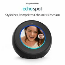 Amazon Echo Spot - Schwarz ***NEU&OVP**