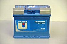 C610 BATTERIA TRATTORE AUTO URANIO IRIDIUM CHROME 64 AH 610EN 242X175X190