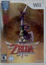 Legend of Zelda Skyward Sword Nintendo Wii Video Game w/ instructions Used 2011