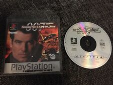 007: Tomorrow Never Dies PlayStation 1 Game Disk & Manual Only Free Postage!