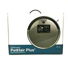 bObsweep bObi PetHair Plus Robotic Vacuum Cleaner and Mop, Charcoal