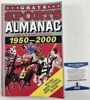 Christopher Lloyd Autographed Back To The Future Grays Sports Almanac Signed BAS