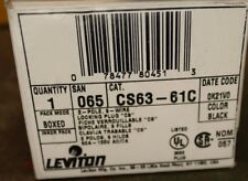 Leviton Locking Plug Twist Lock 50a 125v