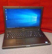 Dell Precision M6600 Laptop | i7-2760 | 1TB | 8GB  | Win 10 | Warranty | T#6881