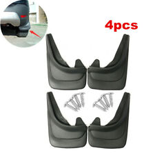 4pc Deluxe Auto Car Body Protector Front & Rear Molded Splash Guards Mud Flaps