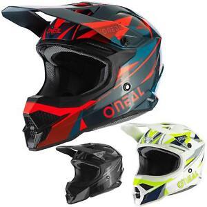 O'Neal 3SRS Triz Motocross Helm MX MTB DH Offroad Gelände Fullface Downhill