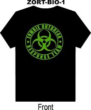Halloween Zombie Response Team T Shirt