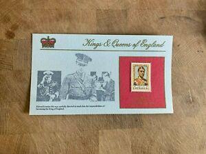 GRENADA 1984 MNH PANEL CARD LTD ED KING EDWARD VIII WALLIS SIMPSON ABDICATION