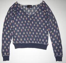 New Hurley Womens Fawn Knit Pullover Sweater Top Medium