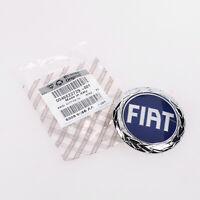 Original Fiat Emblem Blau Punto 188 Barchetta Firmenkennzeichen OE 46522729