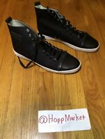 Android Homme High Top Leather Shoes Black Size 10