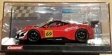 CARRERA 23838 FERRARI 458 ITALIA GT3, KESSEL RACING #69 NEW DIGITAL 124 SLOT CAR