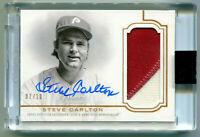 STEVE CARLTON 2020 Topps Dynasty Auto Autograph Jersey Patch Card HOF AU SP 7/10