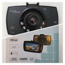 """Cámara De Coche Graba FULL HD 1080 Pantalla 2,7"""" Detección  HDMI Caja Negra"""