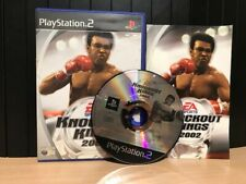 KNOCKOUT KINGS 2002 PAL ITA PS2 COMPLETO CUSTODIA IN INGLESE